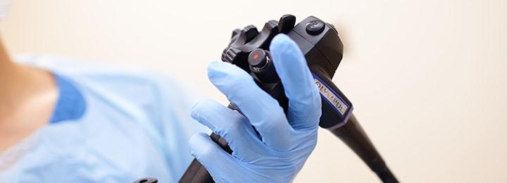 内視鏡専門医による内視鏡検査を実施